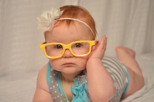 子供メガネ